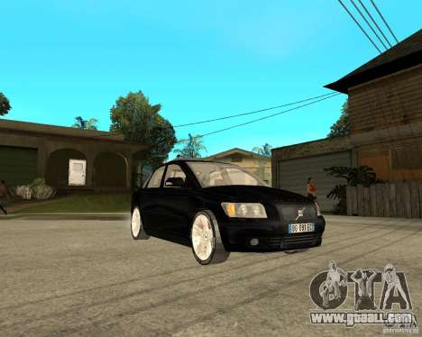 Volvo s40 t5 2008 for GTA San Andreas right view