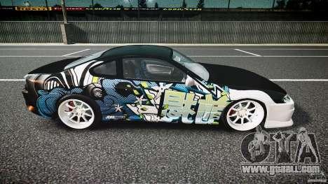Nissan Silvia S15 Drift v1.1 for GTA 4 side view