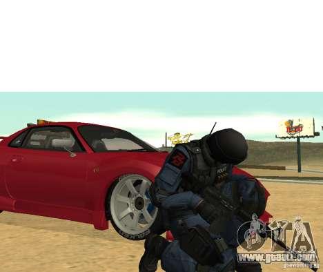 M4 for GTA San Andreas third screenshot