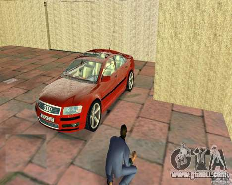 Audi A8 4.2 quattro for GTA Vice City