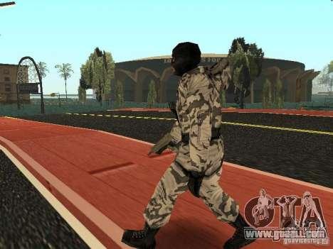 Arctic Avenger for GTA San Andreas second screenshot