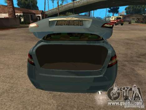 Toyota Camry for GTA San Andreas back view