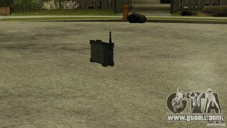 Flash of the CoD MW2 for GTA San Andreas second screenshot