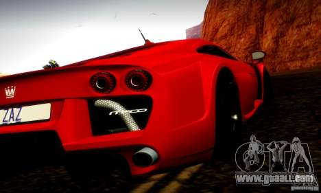 Noble M600 Final for GTA San Andreas left view