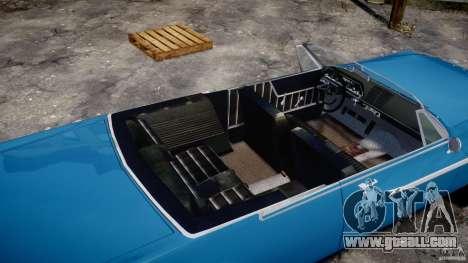 Dodge Dart 440 1962 for GTA 4 upper view