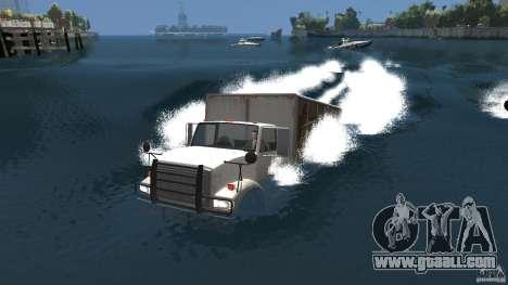 Benson boat for GTA 4 back left view