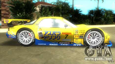 Mazda Re-Amemiya RX7 FD3S Super GT for GTA Vice City left view