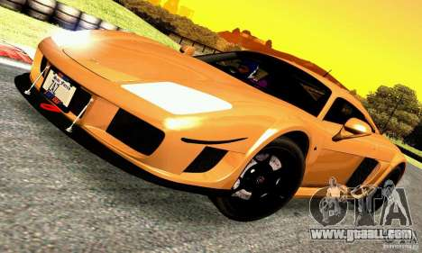 Noble M600 for GTA San Andreas back left view