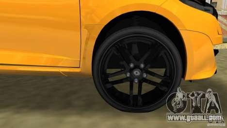 Renault Megane 3 Sport for GTA Vice City upper view