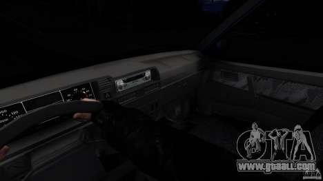 VAZ 2109 Drift Turbo for GTA 4 back view