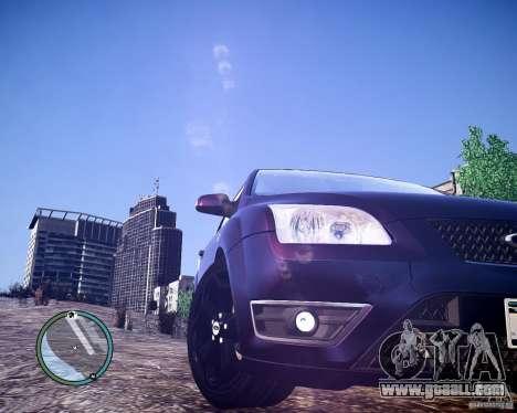 Ford Focus ST 2006 v1.1 for GTA 4 back left view