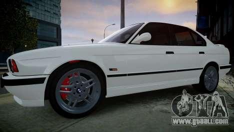 BMW M5 (E34) 1995 v1.0 for GTA 4 left view