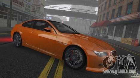 BMW M6 Hurricane RR for GTA 4 side view