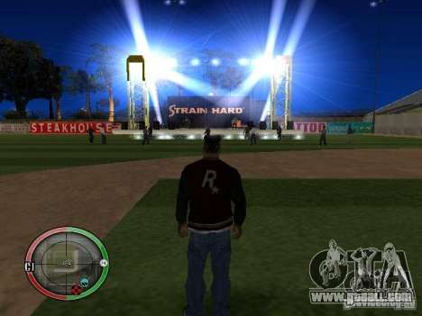 Concert of the AK-47 v2 for GTA San Andreas seventh screenshot