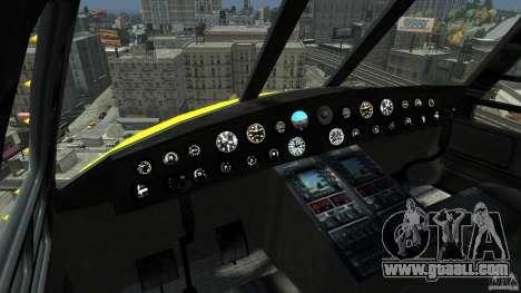 Yellow Annihilator for GTA 4 left view
