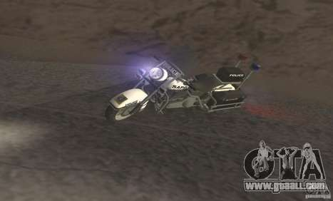 Police motorcycle from GTA TBoGT for GTA San Andreas