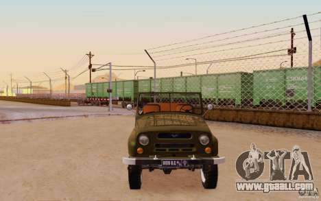 UAZ 469 Gundam Zeon Empire Propaganda Car for GTA San Andreas