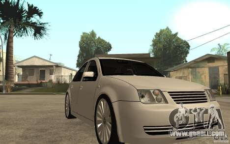 Volkswagen Bora PepeUz Edition for GTA San Andreas back view