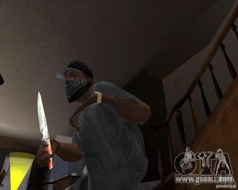 Hunting blade for GTA San Andreas second screenshot