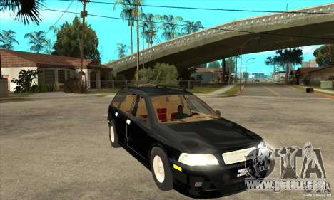 Volvo V40 Touring for GTA San Andreas back view