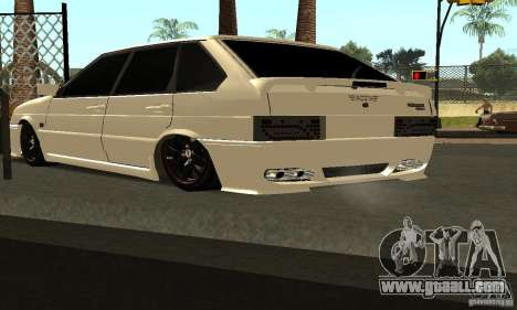 ВАЗ 2114 Tuning for GTA San Andreas back left view