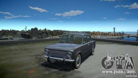 VAZ 2101 Stock for GTA 4