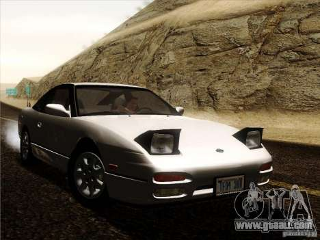 Nissan 240SX S13 - Stock for GTA San Andreas back view