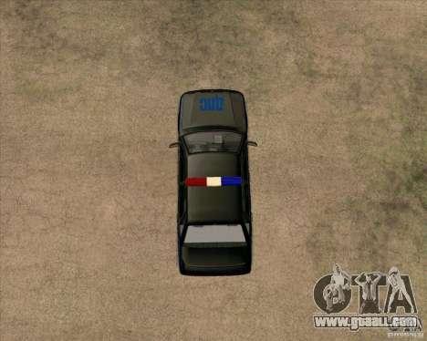 Vaz 2115 DPS for GTA San Andreas back view