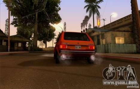 ENBSeries by HunterBoobs v2.0 for GTA San Andreas fifth screenshot