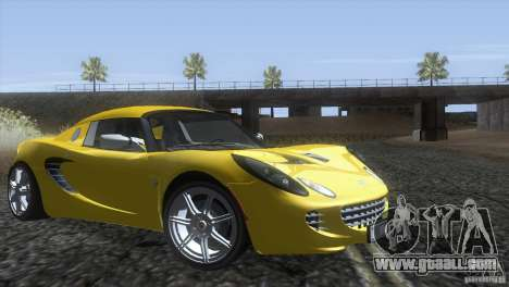 Lotus Elise for GTA San Andreas right view