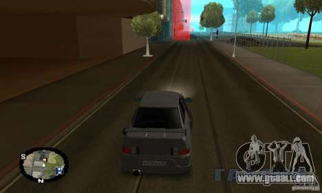 Street racing for GTA San Andreas seventh screenshot