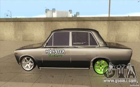 Vaz 2106 Lada Drift Tuned for GTA San Andreas left view
