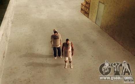 Sombras mais fortes em pedestres for GTA San Andreas sixth screenshot