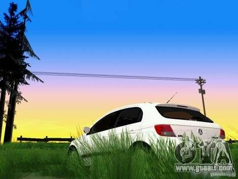 Volkswagen Gol Rallye 2012 for GTA San Andreas side view