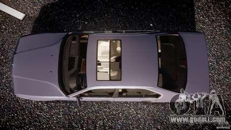 BMW 5 Series E34 540i 1994 v3.0 for GTA 4 right view