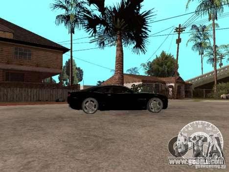 Chevrolet Camaro Concept for GTA San Andreas left view