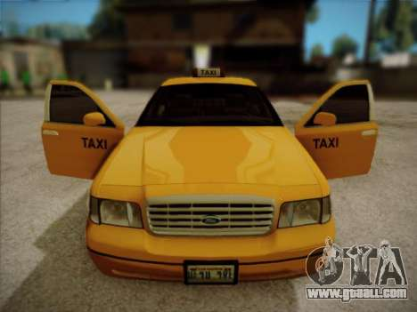 Ford Crown Victoria Taxi 2003 for GTA San Andreas