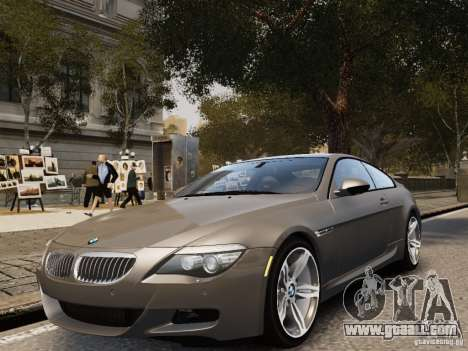 BMW M6 2010 for GTA 4