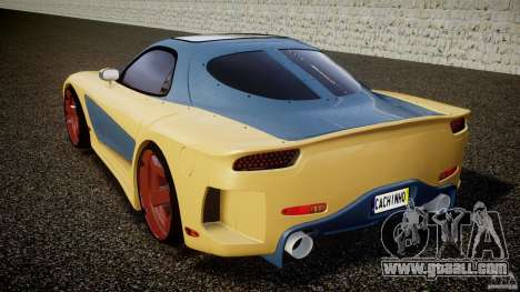 Mazda RX-7 Veilside v0.8 for GTA 4 back left view