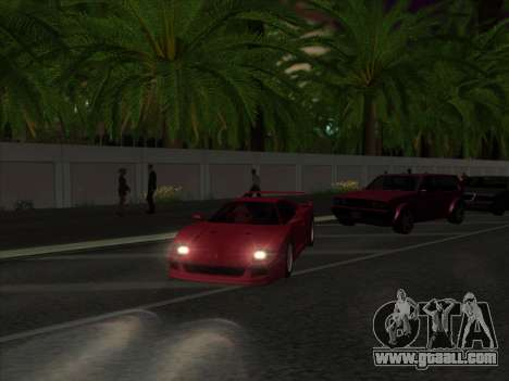 Nice ENBseries by laphund for GTA San Andreas second screenshot