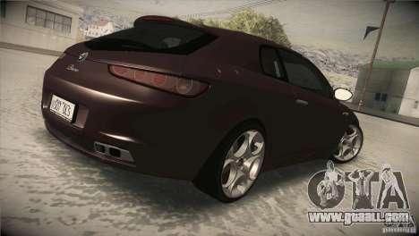 Alfa Romeo Brera Ti for GTA San Andreas right view