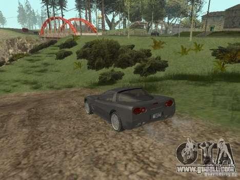 Cheetah from GTA 4 for GTA San Andreas right view