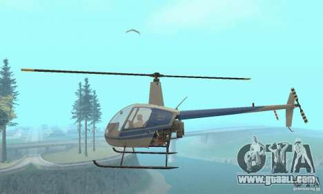 Robinson R22 for GTA San Andreas inner view