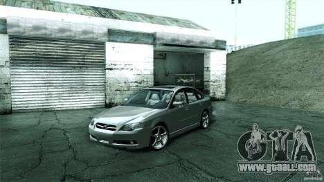 Subaru Legacy B4 3.0R specB for GTA San Andreas