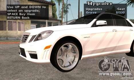 Wheels Pack by EMZone for GTA San Andreas ninth screenshot