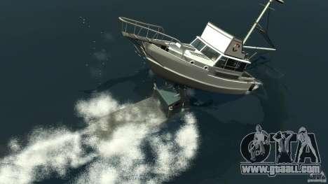 Biff boat for GTA 4 bottom view