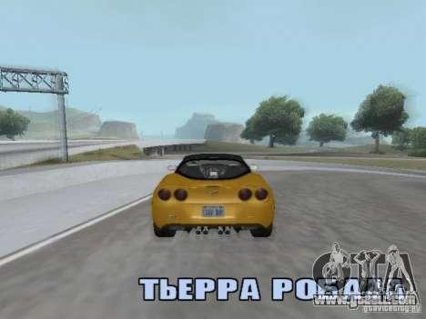 Camera Shake for GTA San Andreas forth screenshot