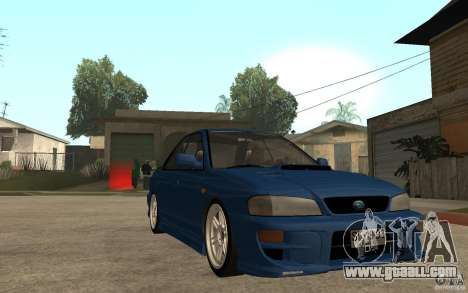 Subaru Impreza GC8 JDM SPEC for GTA San Andreas back view