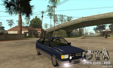 VW Gol GTI 1989 for GTA San Andreas back view