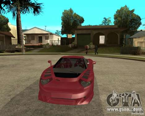 B-Engineering Edonis for GTA San Andreas back view